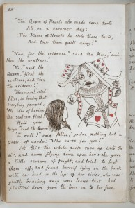 Lewis Carroll's notebook